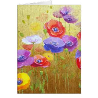 Poppy Field card 1