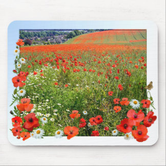 POPPY FIELD  Mousepad