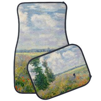 Poppy Fields near Argenteuil by Claude Monet Car Mat