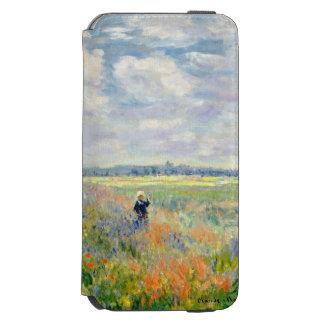 Poppy Fields near Argenteuil by Claude Monet Incipio Watson™ iPhone 6 Wallet Case