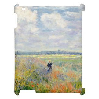 Poppy Fields near Argenteuil by Claude Monet iPad Case