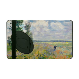 Poppy Fields near Argenteuil by Claude Monet iPad Cover