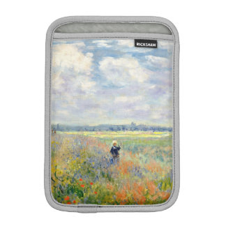 Poppy Fields near Argenteuil by Claude Monet iPad Mini Sleeve