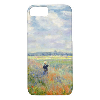 Poppy Fields near Argenteuil by Claude Monet iPhone 8/7 Case