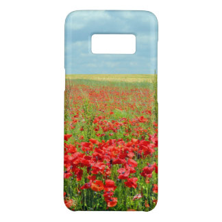 Poppy Fields Phone Case - Galaxy S8