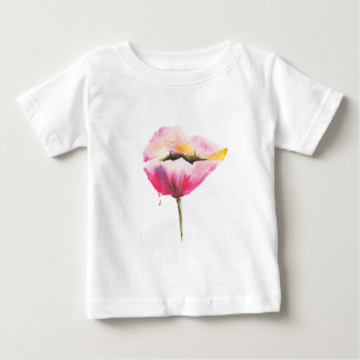 Poppy flower baby T-Shirt