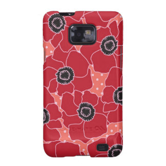 Poppy Flower Case-Mate Case Samsung Galaxy S2 Covers