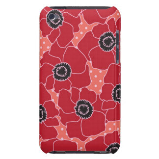 Poppy Flower Case-Mate Case iPod Touch Covers