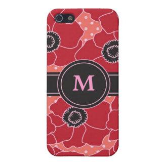 Poppy Flower Speck Case Case For iPhone 5