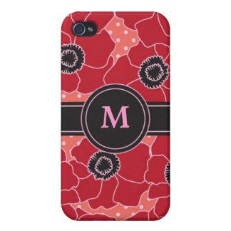 Poppy Flower Speck Case iPhone 4 Cases