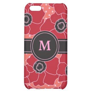 Poppy Flower Speck Case iPhone 5C Cover