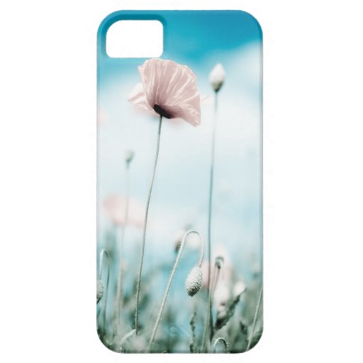 Poppy Flowers iPhone 5 Covers