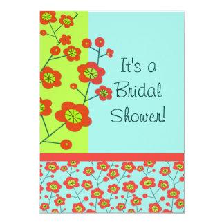 Poppy Fun Trendy Mod Floral Card