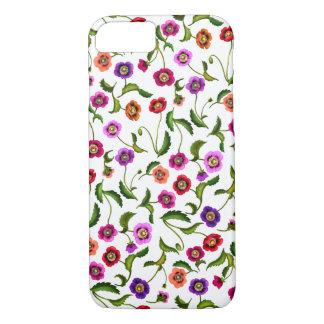 Poppy Garden Flowers iPhone 7 Case