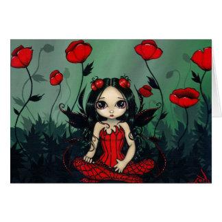 """Poppy Garden"" Greeting Card"