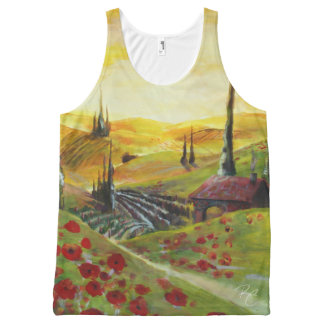 Poppy Hills All-Over-Print Tank Top
