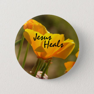Poppy Jesus Heals Button