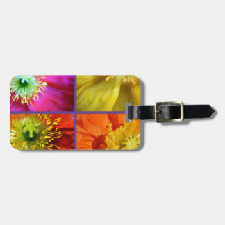Poppy Love Luggage Tag