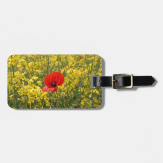 Poppy Luggage Tag