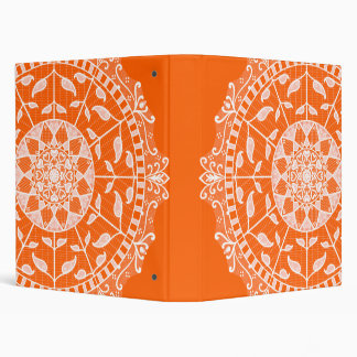 Poppy Mandala Binder