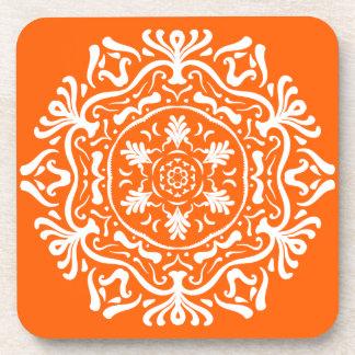 Poppy Mandala Coaster