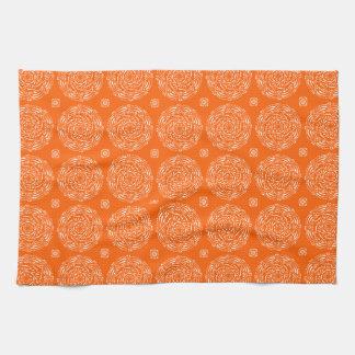 Poppy Mandala Kitchen Towel