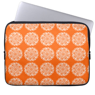 Poppy Mandala Laptop Sleeve