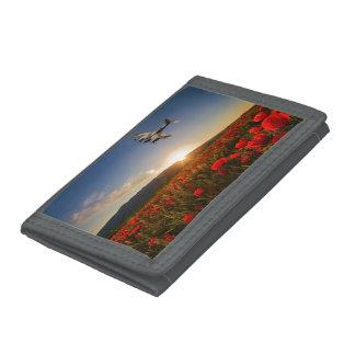 Poppy Mossie Tri-fold Wallets