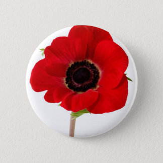 POPPY of Remembrance 2 Inch Round Button