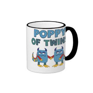Poppy of Twins Ringer Coffee Mug