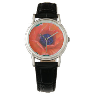 POPPY Oriental Red Orange --- Watch