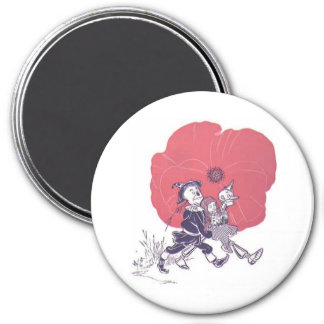 Poppy - Oz Magnet