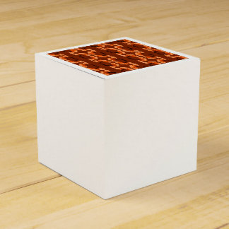 poppy pattern favor box