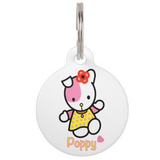 POPPY pet tag