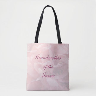 Poppy Petals Grandmother of Groom Wedding Tote Bag