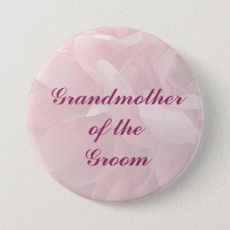 Poppy Petals Grandmother of the Groom Pin