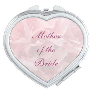Poppy Petals Wedding Mother of the Bride Vanity Mirrors