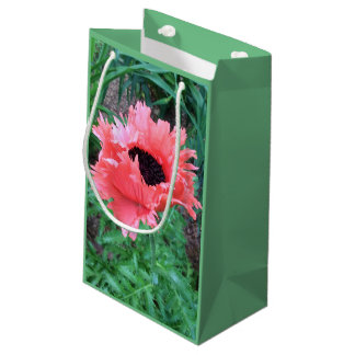 "POPPY ""Pink Ruffles"" --- Small Gift Bag"