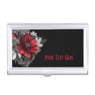 Poppy Pops Custom Business Card Holder