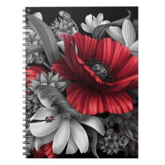 Poppy Pops Out Spiral Notebook