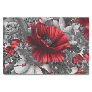 Poppy Pops Tissue Paper