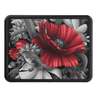 Poppy Pops Trailer Hitch Cover