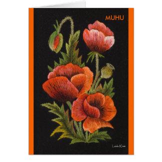Poppy Postcard Muhu