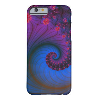 Poppy Row Vortex iPhone 6 case Barely There iPhone 6 Case