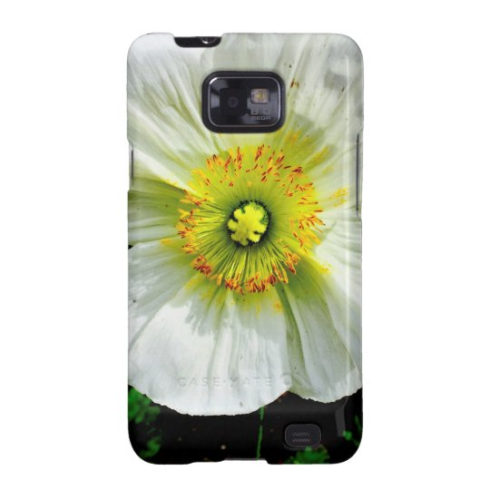 Poppy Samsung Galaxy SII Covers