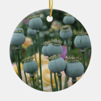 Poppy Seed Heads Ornament