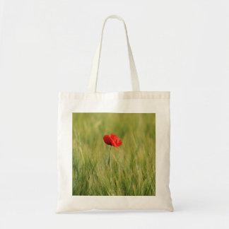 Poppy Single 1 Budget Tote Bag