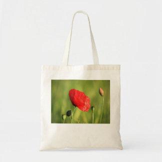 Poppy Single 2 Budget Tote Bag
