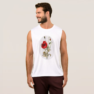 Poppy Watercolor Tank Top