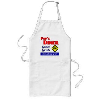 Pops Diner Retro Kitchen Slogan Apron